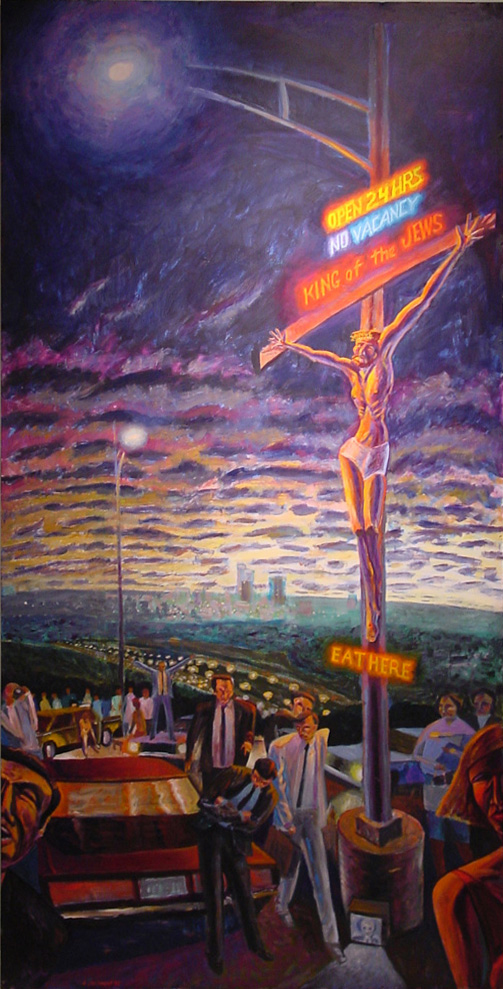 Images Of Crucifixion Of Jesus Paintings